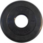 Диск обрезиненный Atlet 2.5 кг. 51 мм